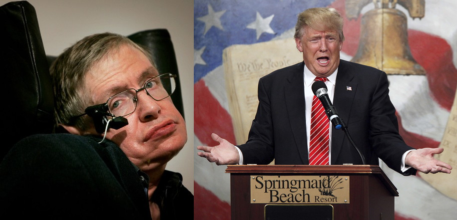 trump demagogue,Physicist Stephen Hawking bewildered by Trump, to Stephen Hawking's comment, explainer of cosmic mysteries, political ascendance , unexplainable trump president, Stephen Hawking Calls Trump a 'Demagogue' Google search of term reaches all time high. record google search, google analytics trends, hillary clinton, tea party, best satirical news articles of all time, funniest satire humor, jokes, believable articles that aren't true, nottheonion, the onion, best 2016 memes, this week, this month, bernie sanders, ted cruz,