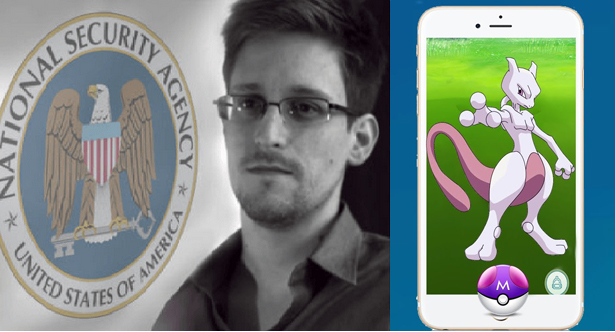 Edward Snowden Leaks Location of Mewtwo in Pokemon Go